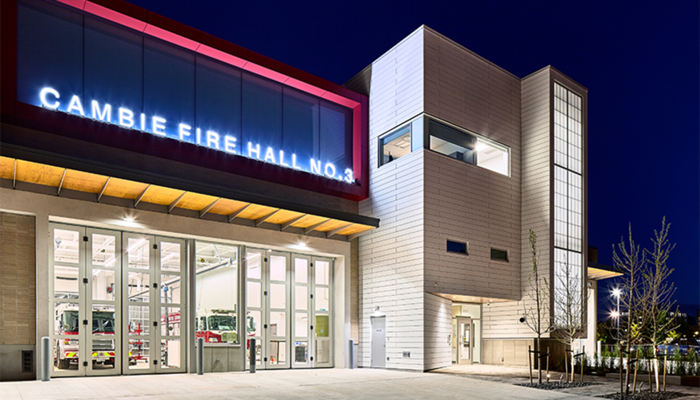 S2 in the news: Cambie Fire Station Receives Notable Mention in Firehouse Magazine Awards