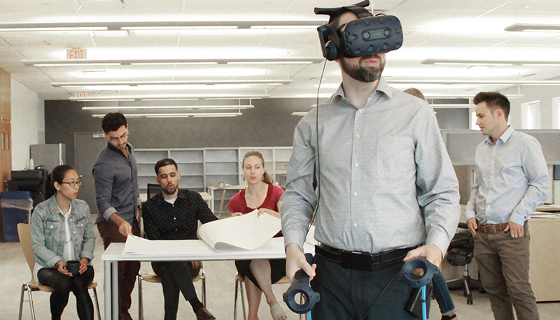 Blog: VIRTUAL REALITY – THE LATEST FRONTIER IN CLIENT DESIGN TOOLS